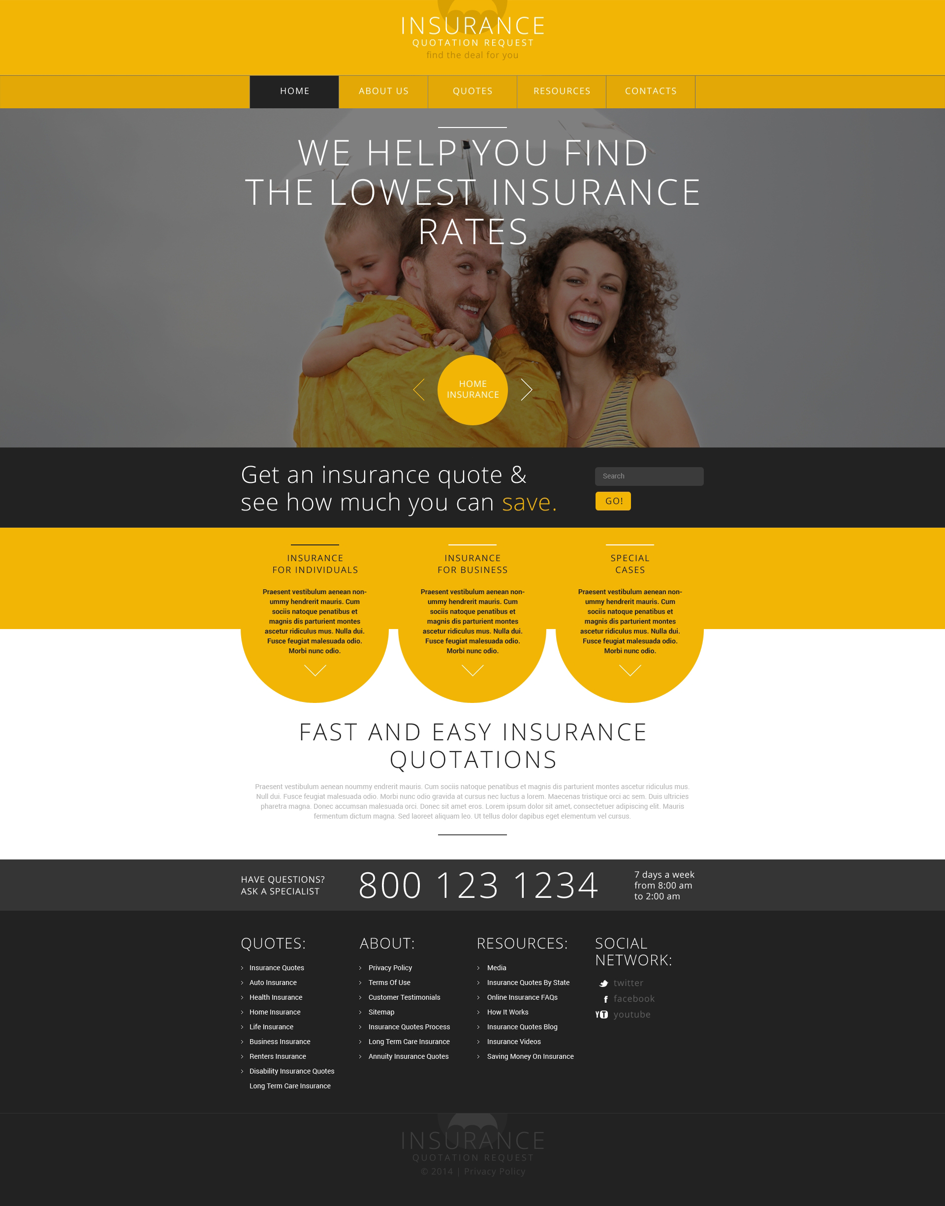 Web Design Analysis Industry Insurance 8 Arteqo Consulting