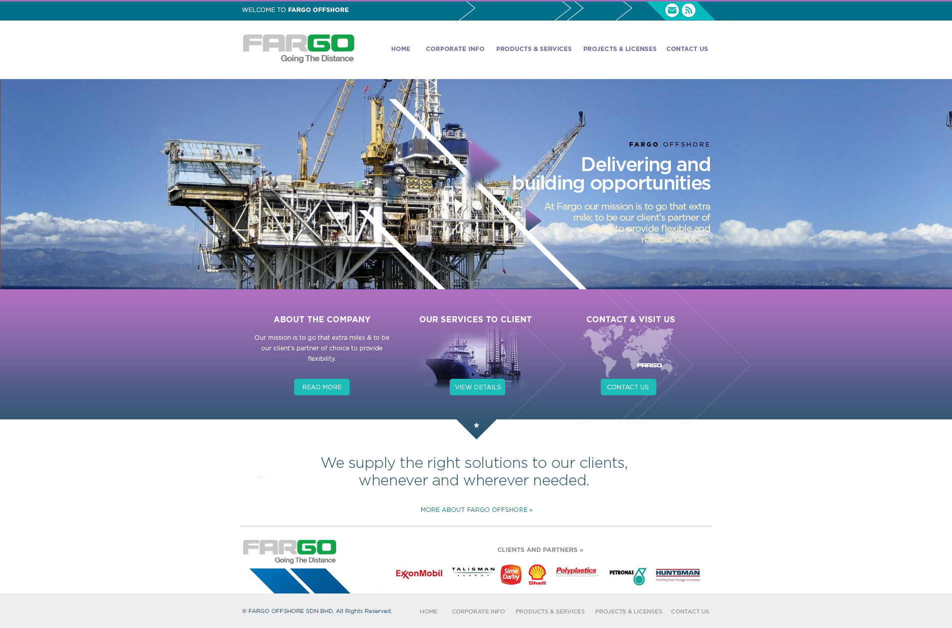 website design of logistics companies arteqo consulting